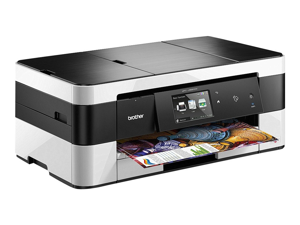 Open Box Brother MFC-J4620DW Business Smart Inkjet All-in-One