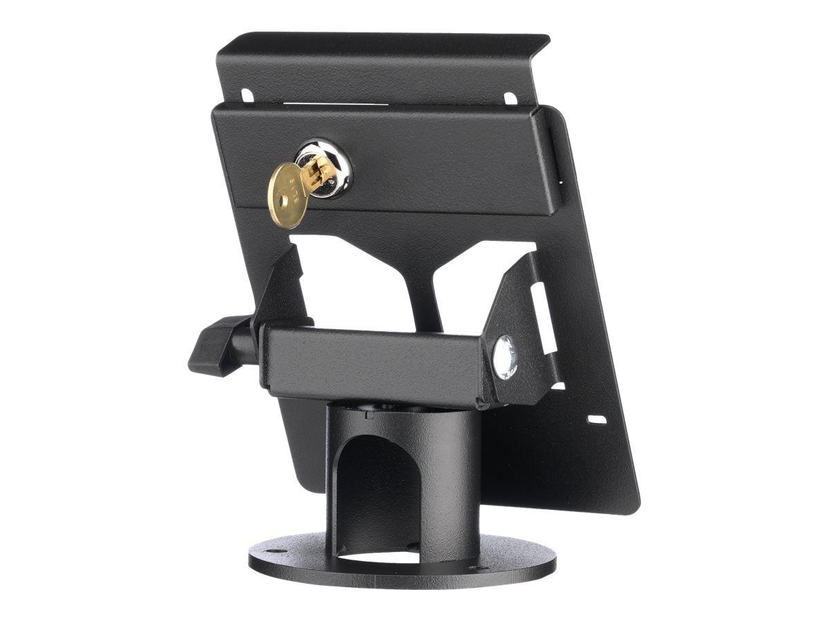 MMF POS Lockable Terminal Stand, Triple Security for Ingenico ISC250, MMFPSL9604