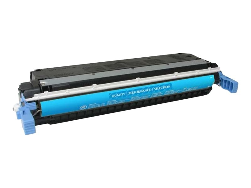 West Point 114533P HP C9731A Cyan Toner Cartridge for HP Color LaserJet 5500 & 5550 Series, C9731A/200060P, 7183997, Toner and Imaging Components