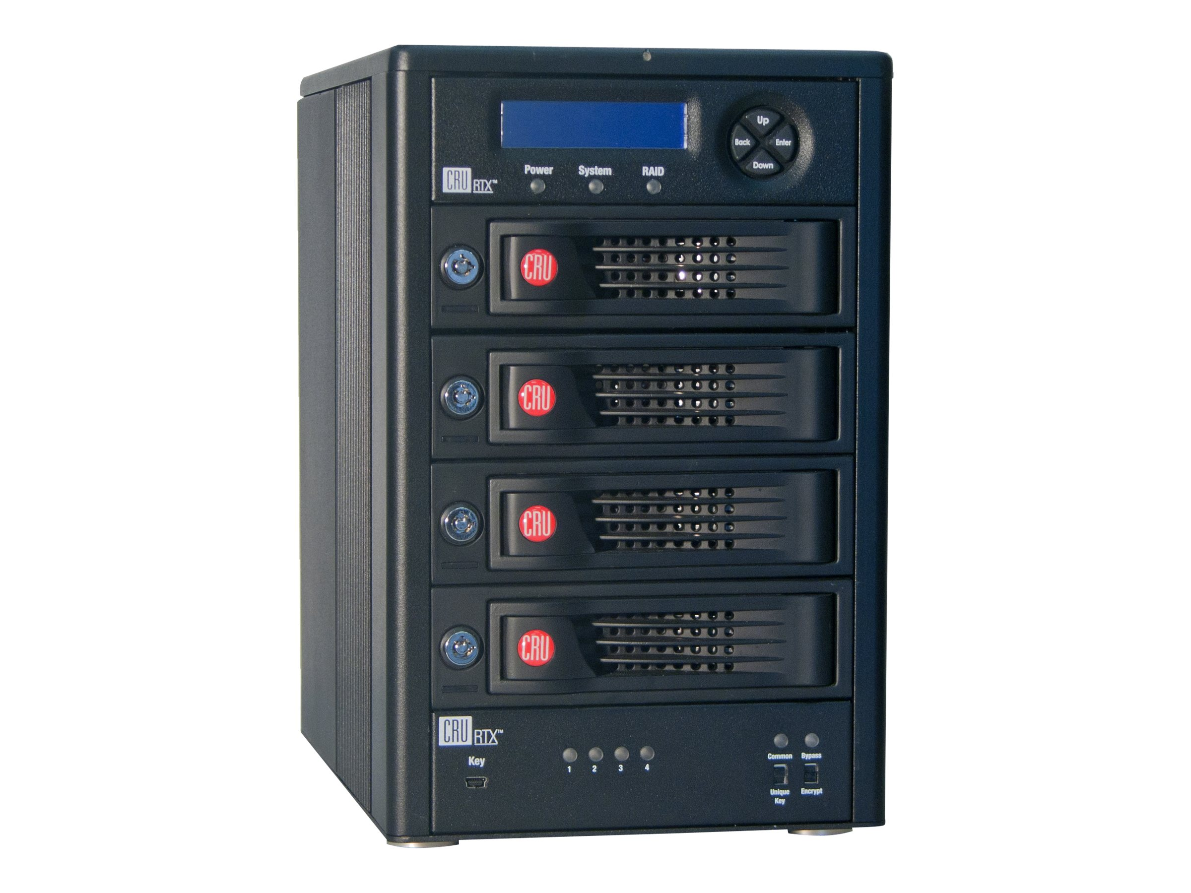 CRU 12TB RTXS 410-3QR R5 HF Storage w  Keys, 35450-3137-3400, 17730341, Hard Drives - External