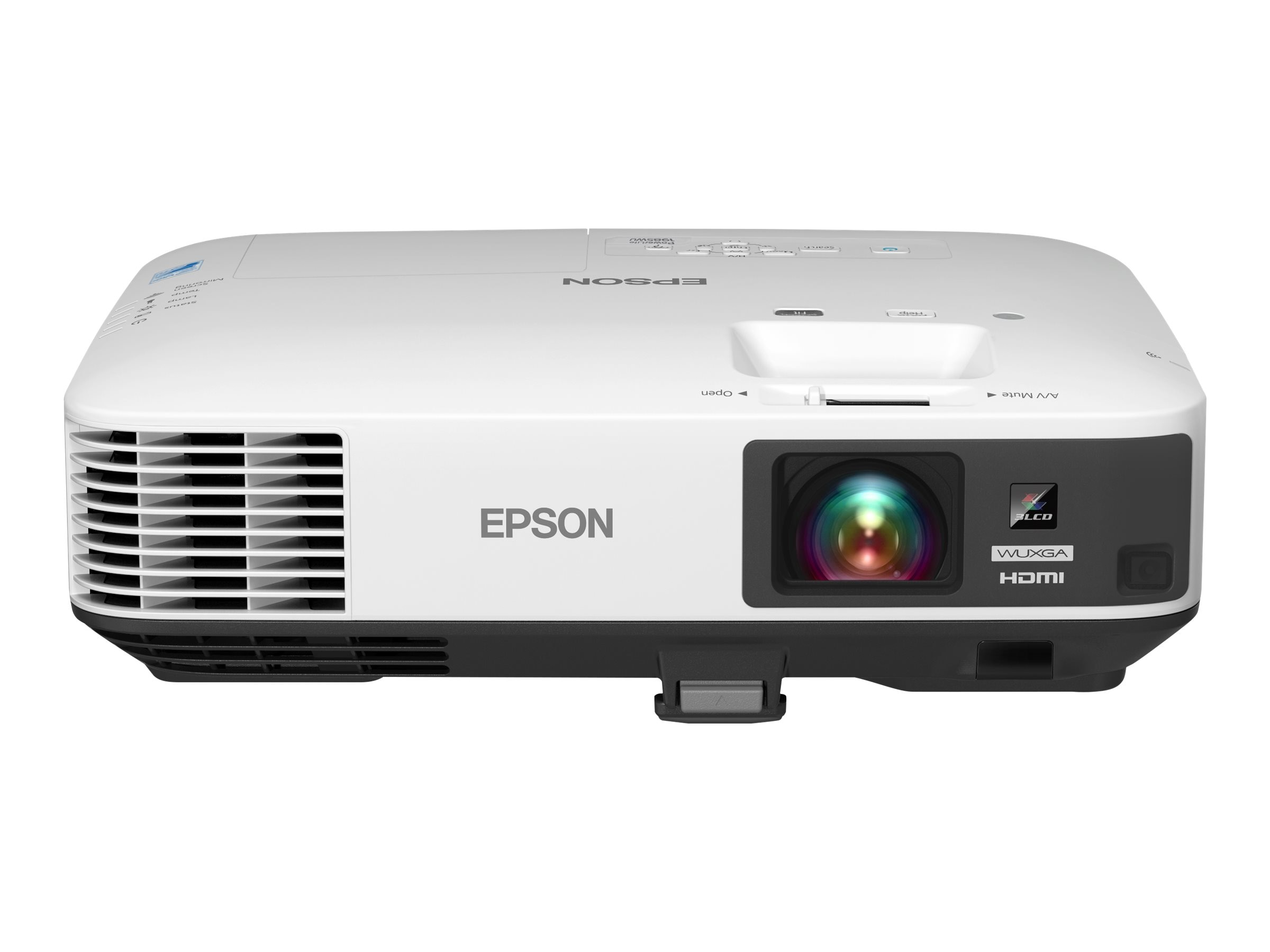 Epson PowerLite 1985WU WUXGA Wireless 3LCD Projector, 4800 Lumens, White, V11H619020