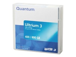 Quantum 400 800GB LTO-3 Ultrium Tape Cartridge, MR-L3MQN-01, 5718353, Tape Drive Cartridges & Accessories