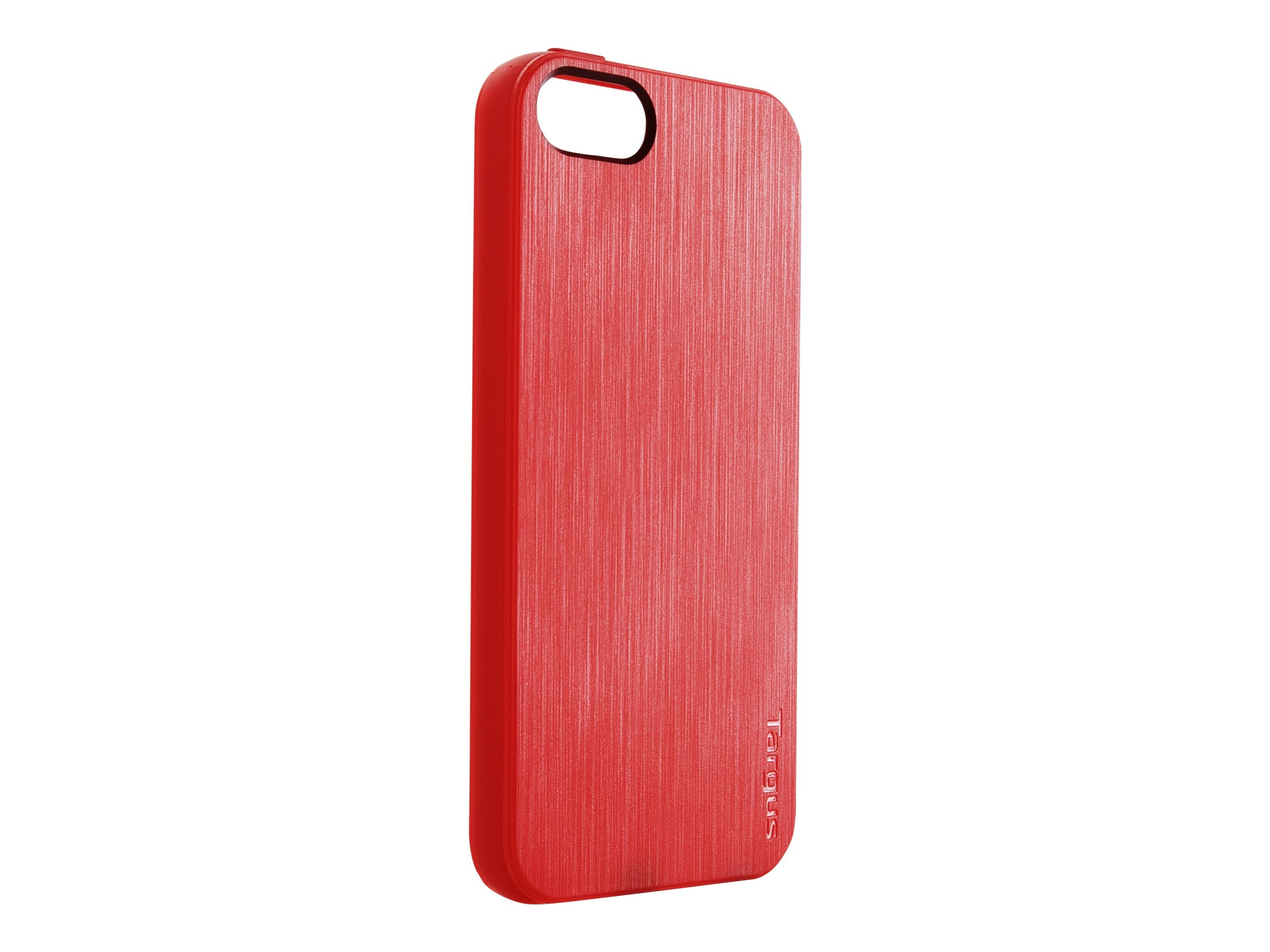 Targus Slim-Fit Back Cover for iPhone 5, Red, THD03103US, 14765688, Carrying Cases - Phones/PDAs