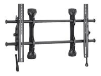 Chief Manufacturing Large Fusion Micro-Adjustable Tilt Wall Mount for Flat Panels 37-63, Black