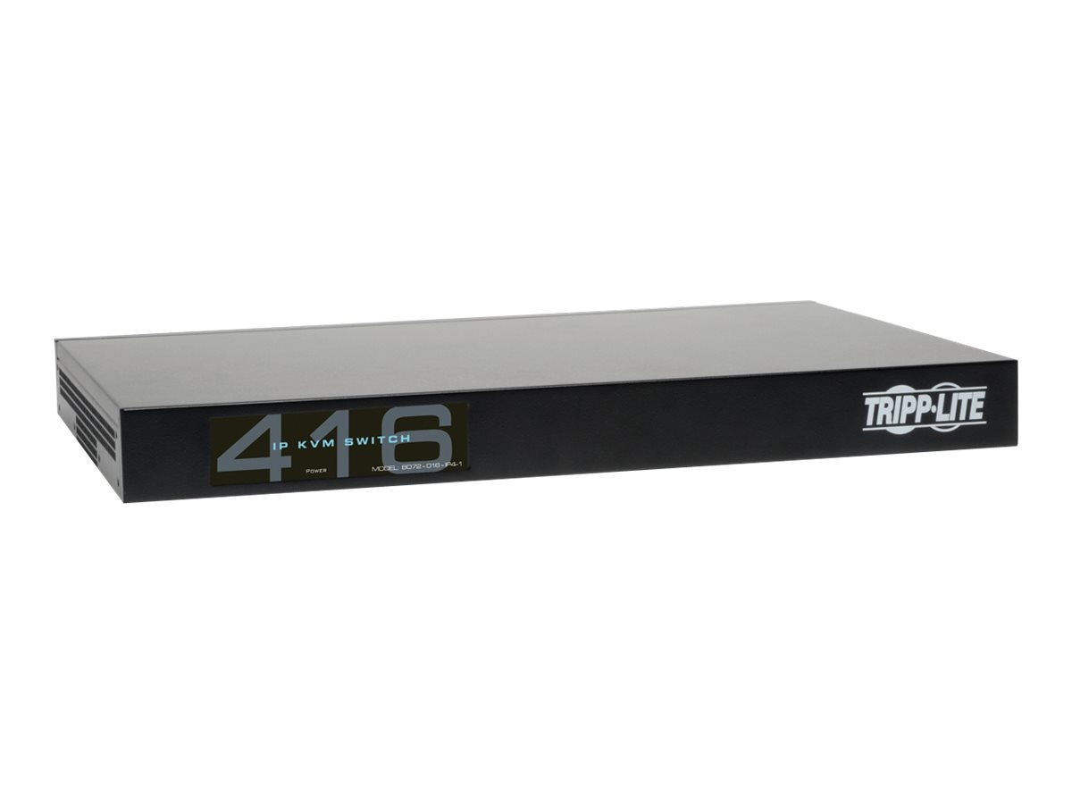 Tripp Lite 4+1 User NetCommander 16-Port Cat5 IP KVM Switch, B072-016-IP4