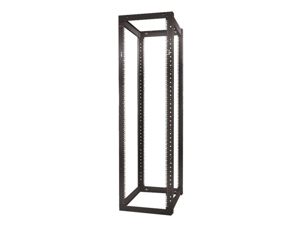 APC NetShelter 4-Post Open Frame Rack 44U Square Holes, AR203A