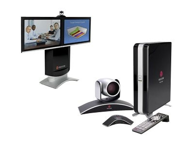 Polycom HDX Media Center 8000-720 2WC 2-42 1080P LCD Displays, 7200-26830-001, 12689319, Audio/Video Conference Hardware