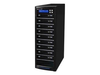 Vinpower ECON Blu-ray DVD CD 1:9 Tower Duplicator w  Hard Drive, ECON-S9T-BD-BK, 15128197, Disc Duplicators