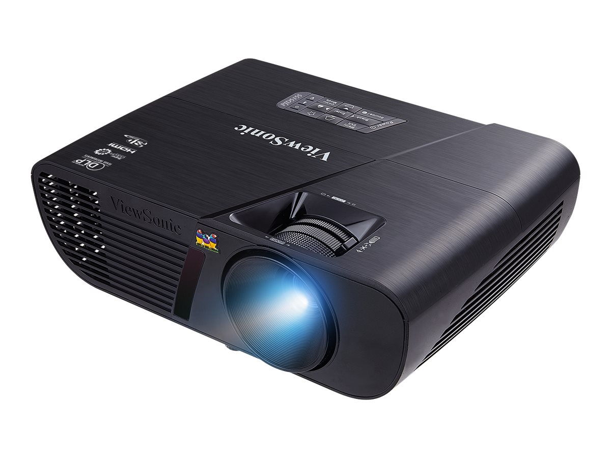 ViewSonic PJD5155 SVGA 3D-Ready DLP Projector, 3200 Lumens, Black