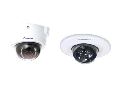 Geovision 2MP H.264 3x Zoom Super Low Lux WDR IR Fixed IP Dome Camera, 84-FD25100-002U