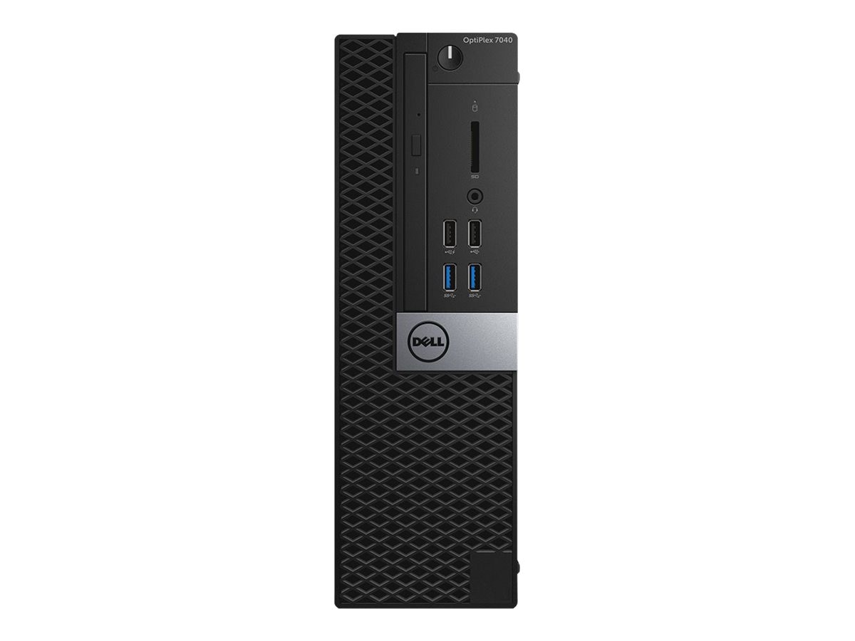 Dell OptiPlex 7040 SFF Core i5-6500 3.2GHz 8GB 256GB SSD DVD-RW GbE W7P64-W10P, 246J5, 31212049, Desktops