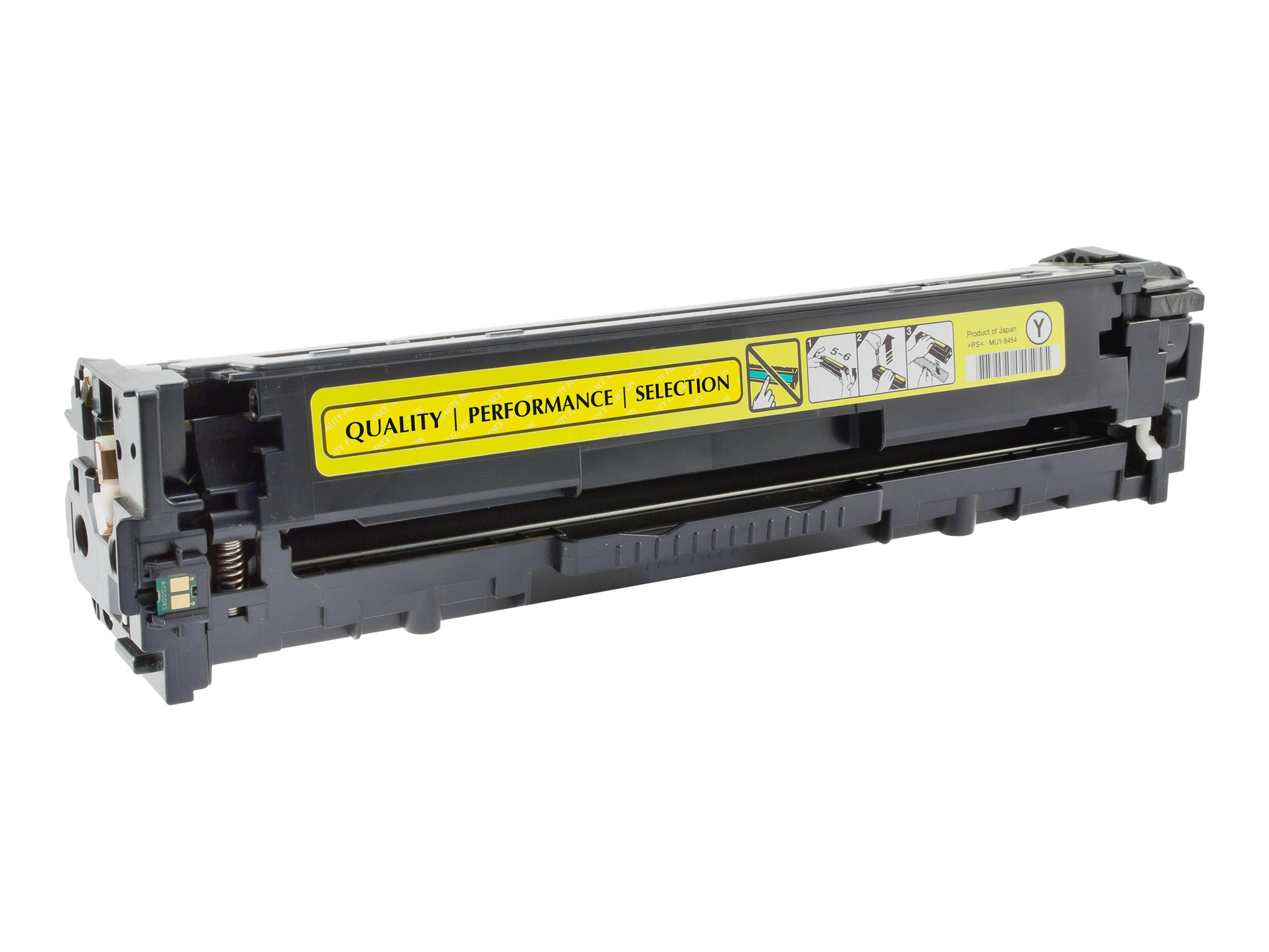 V7 CE322AG Yellow Toner Cartridge for HP Color LaserJet Pro CM1415 & CP1525, V71415Y