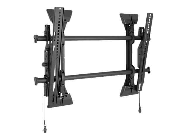 Chief Manufacturing Medium Fusion Micro-Adjustable Tilt Wall Display Mount, Black