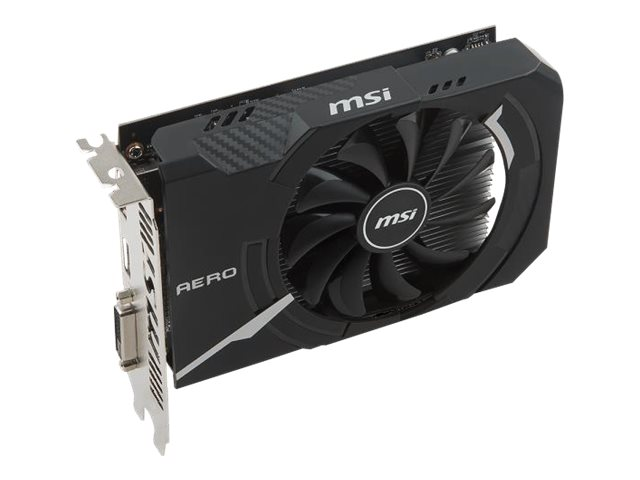 Microstar RX 550 AERO ITX Overclocked Graphics Card, 2GB, R550AI2C