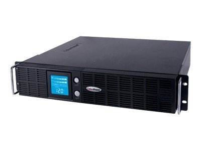CyberPower Smart App Intelligent LCD 1500VA 1125W 120V 2U RM Tower UPS