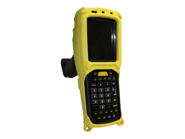 Psion Teklogix Accessory Rubber Boot Standard Back, Yellow, ST6080, 21644358, Carrying Cases - Other