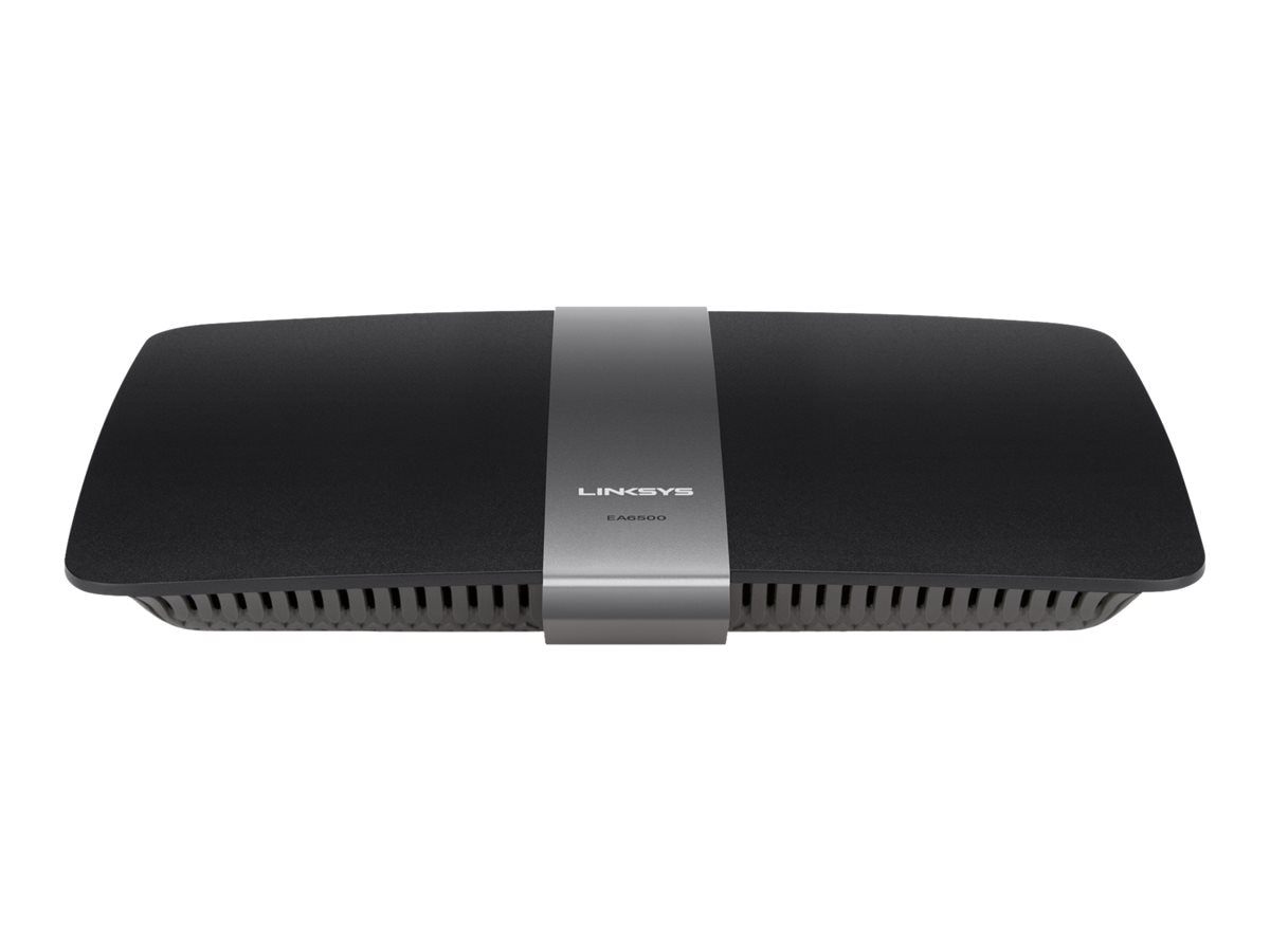 Linksys EA6500 Smart Wi-Fi Dual-Band AC Router with Gigabit and 2x USB, EA6500, 14751024, Wireless Routers