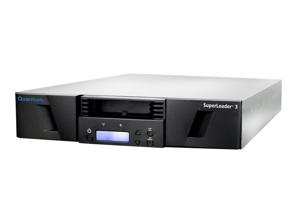 Quantum SuperLoader 3 Library Model C w  LTO-5 HH Drive, 16 Slots 2 Magazines, PCIe 6Gb s HBA & (10) Cartgs., E7-L2PAE-HF-C