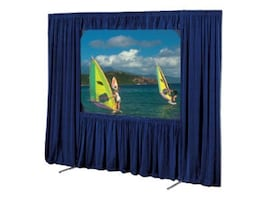 Draper Cinefold Dress Kit with Case, Black Velour, 4:3, 10.5 x 14ft, 220124, 8408887, Projector Screen Accessories