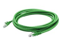 ACP-EP CAT6A UTP Copper Patch Cable, Green, 15ft