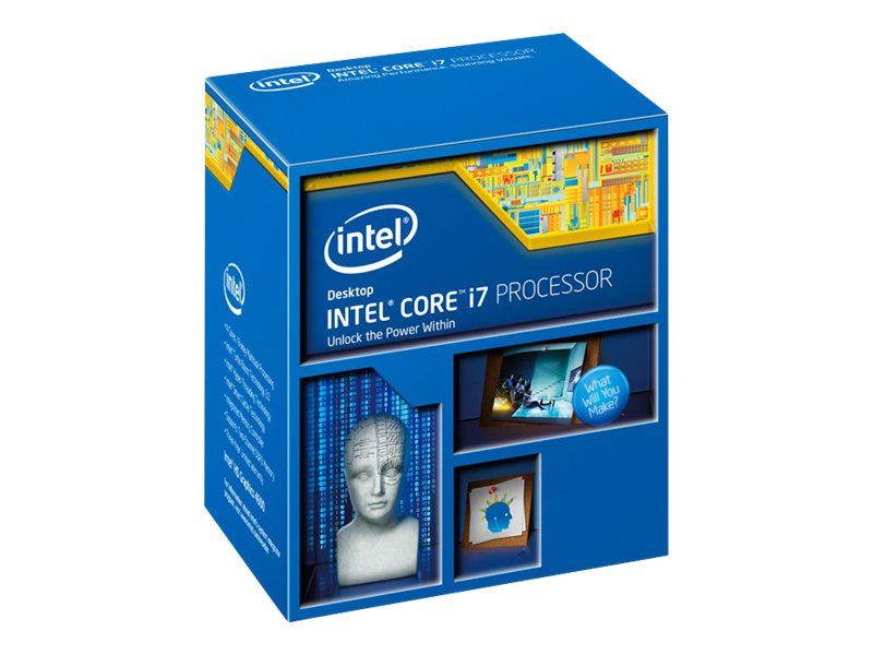 Intel Processor, Core i7-4810MQ 2.8GHz 6MB 47W, Box, BX80647I74810MQ, 18412599, Processor Upgrades