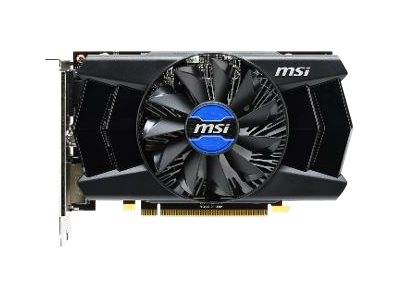 Microstar Radeon R7 250XT Graphics Card, 2GB GDDR3