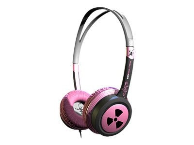 Ifrogz EarPollution Toxix - Hot Pink, EP-TX-HPK, 17394931, Headsets (w/ microphone)