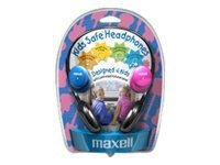 Maxell Kids Safe Headphones with Volume Protection, 190338, 9903046, Headphones