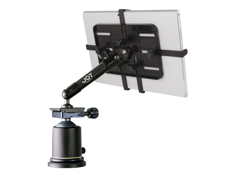 Joy Factory Unite Tripod Mic Stand Mount for 7-12 Tablets up to 1 Thick, MNU201