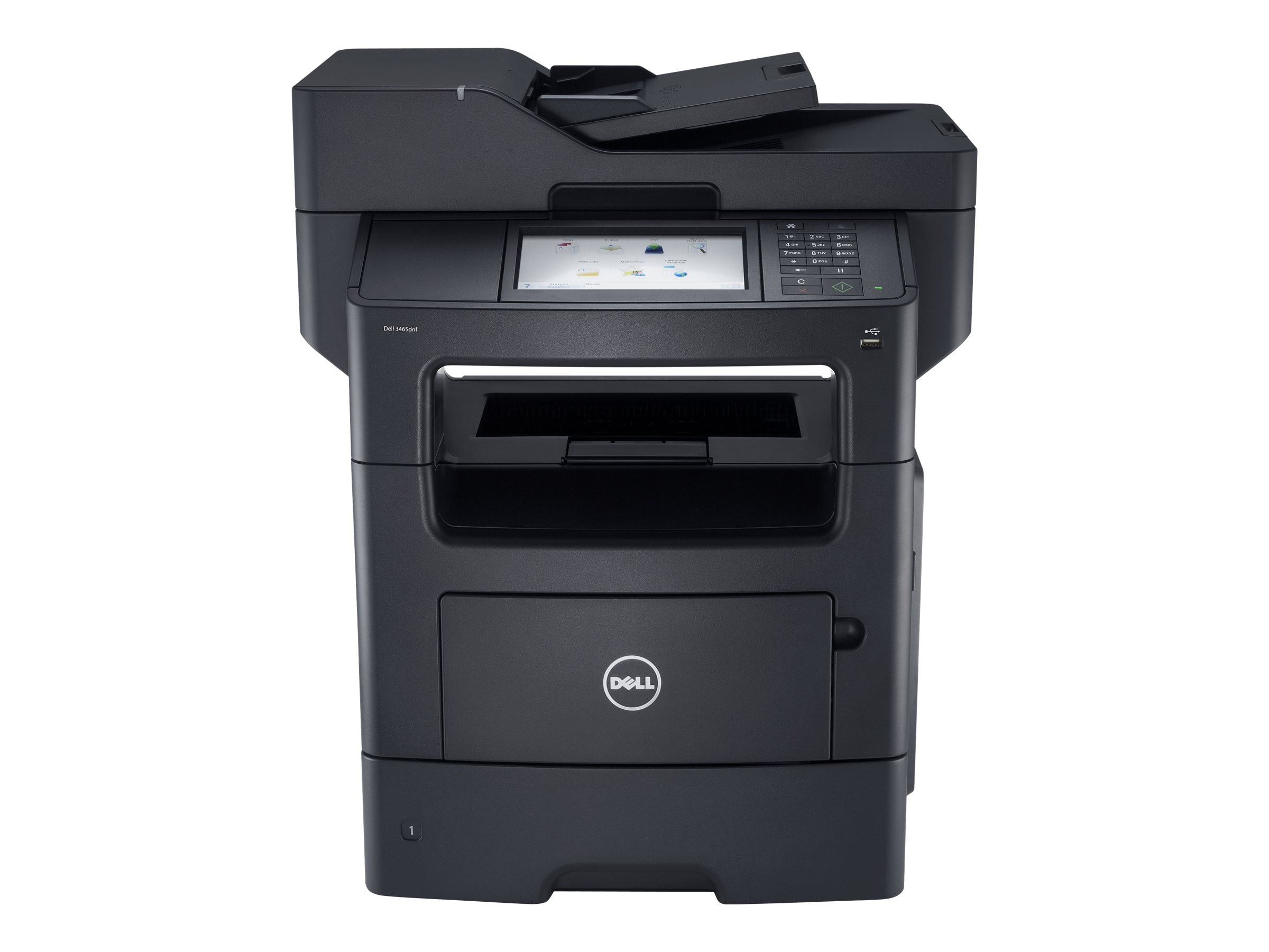 Dell B3465dnf Mono Laser Multifunction Printer, B3465DNF