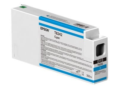 Epson Cyan Ultrachrome HDX 350ml Ink Cartridge for SureColor 6000, 7000, 8000 & 9000 Printer, T824200