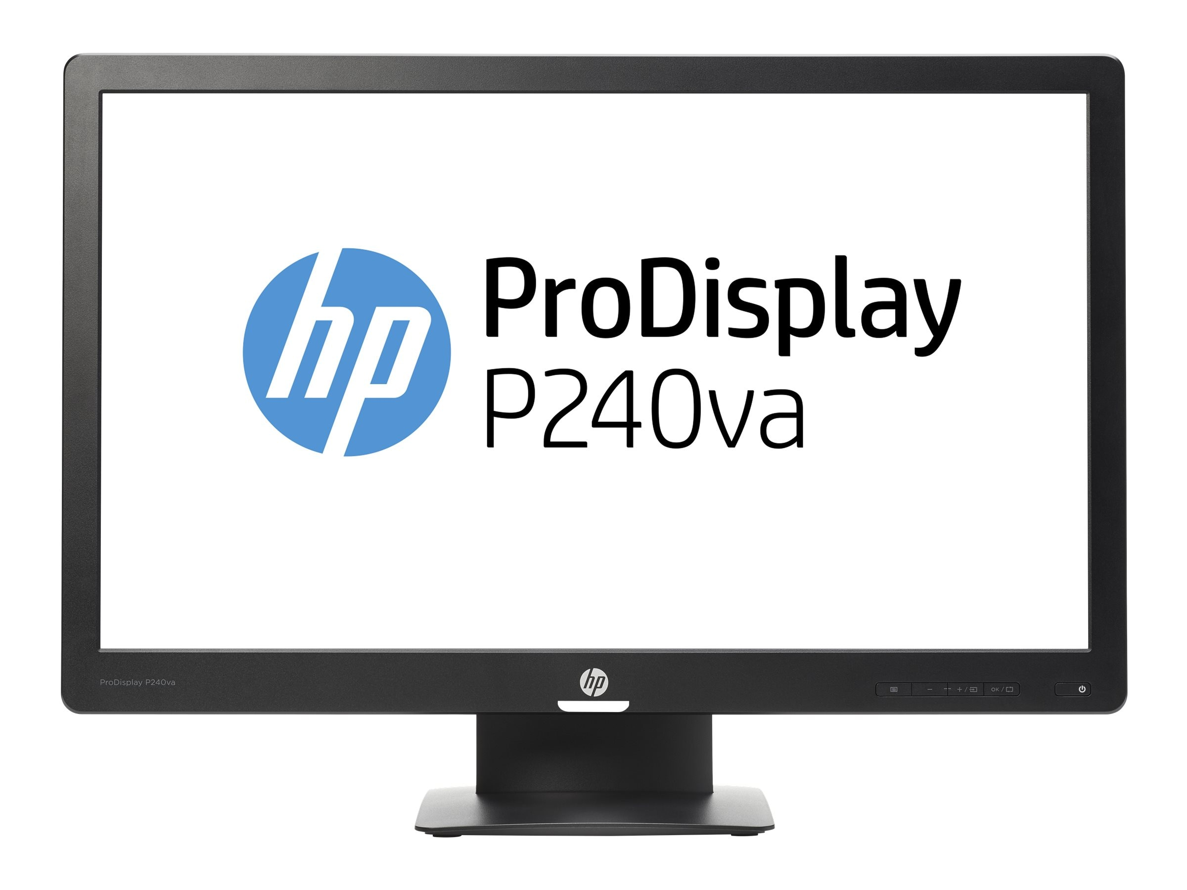 HP 23.8 P240va Full HD LED-LCD Monitor, Black