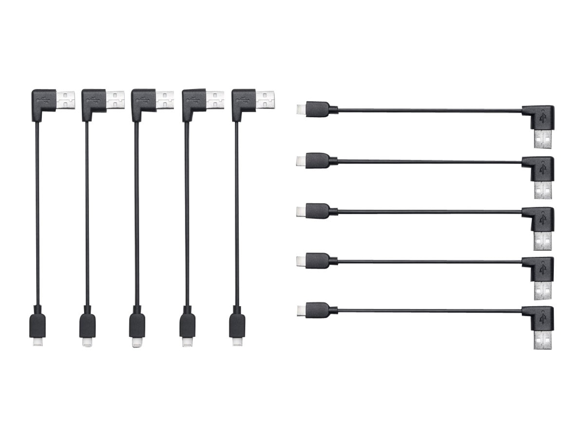 Kensington Charge & Sync Cable, USB to Lightning, 10 Pack, K67781WW, 15728045, Cables