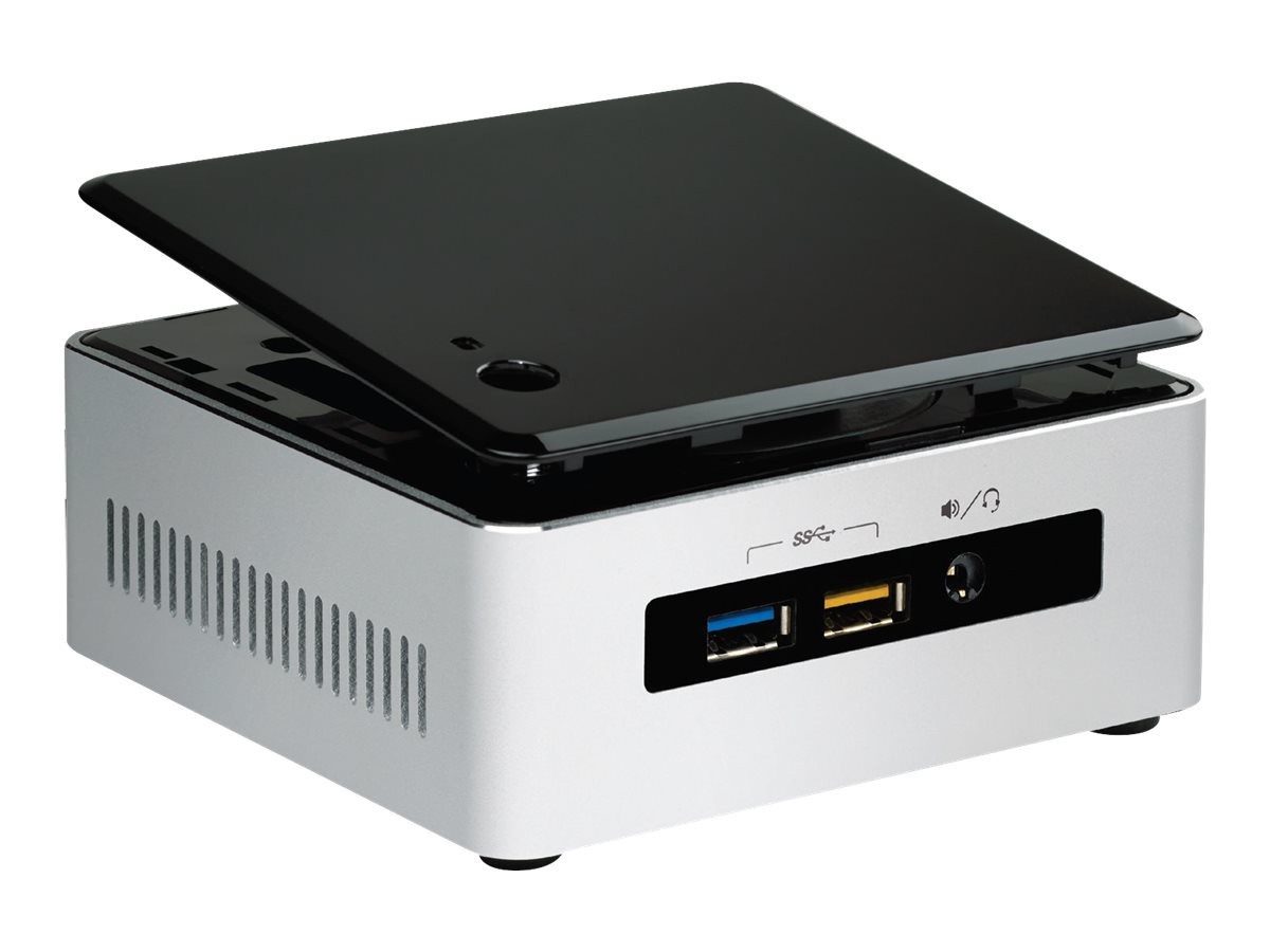 Intel Barebones, NUC 5I7RYHR Mini PC Core i7-5557U 3.1GHz Max.16GB DDR3L 2.5 Bay M.2 GbE ac BT, BOXNUC5I7RYH, 22614661, Barebones Systems