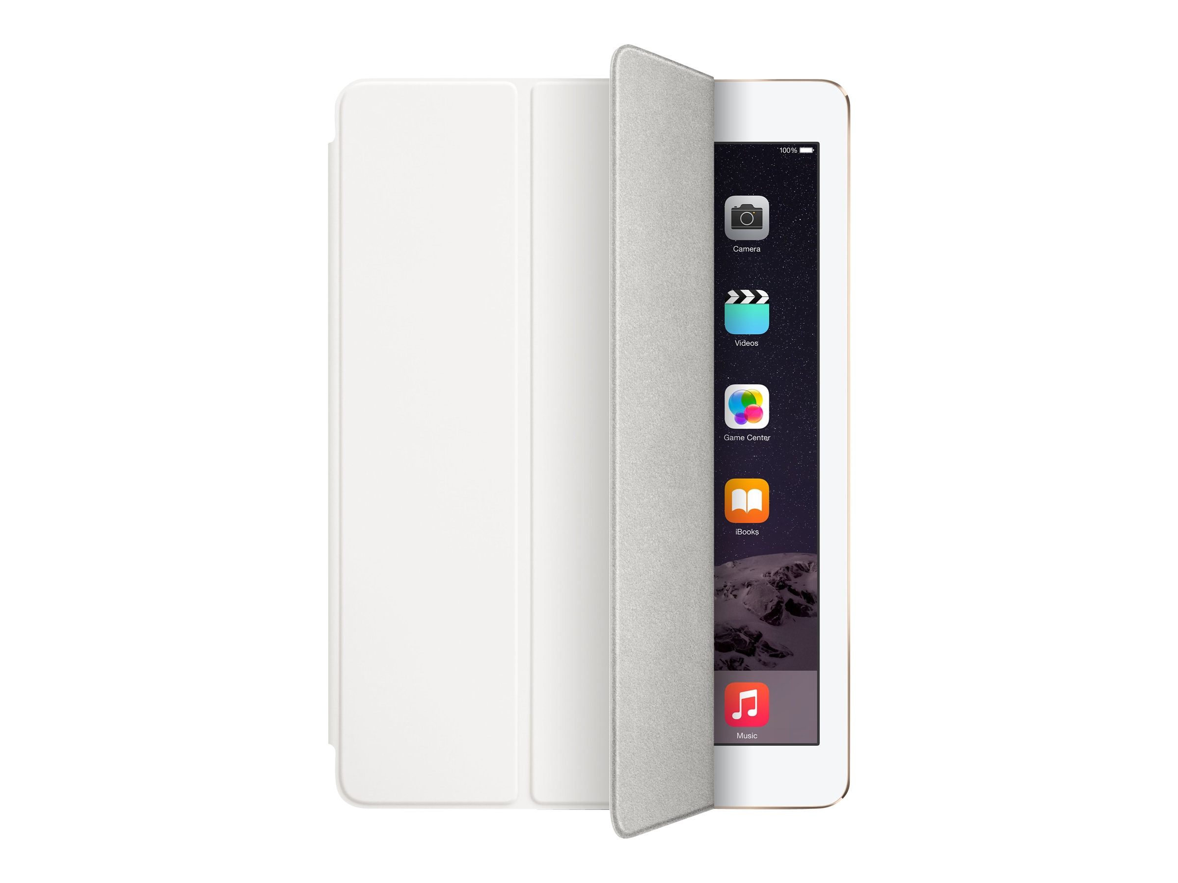 Apple iPad Air Smart Cover, White, MGTN2ZM/A, 17959453, Carrying Cases - Tablets & eReaders