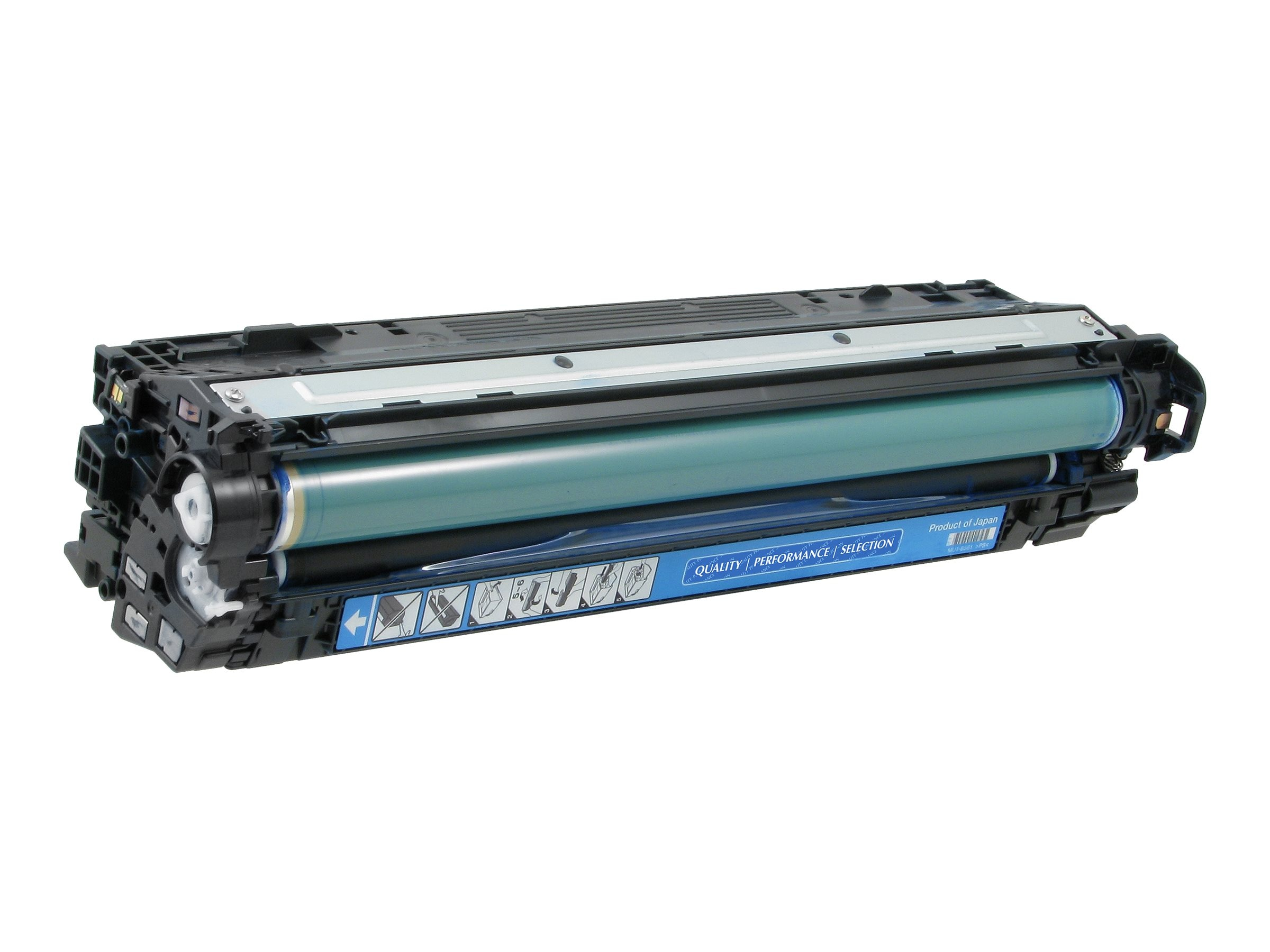 V7 CE741A Cyan Toner Cartridge for Hp Color LaserJet CP5520, V75220C