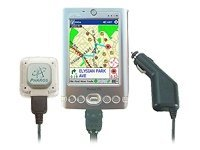 Pharos Pocket GPS Navigator Axim X3, SW, Maps, Car Charger, PDA Holder, PK041, 5109339, Global Positioning Systems