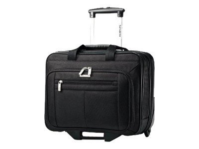 Stephen Gould Classic Business Wheeled Case, Black, 43876-1041, 12580065, Carrying Cases - Notebook