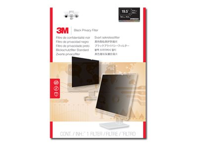 3M 19.5 16:9 Monitor Privacy Filter for Dell, OFMDE001