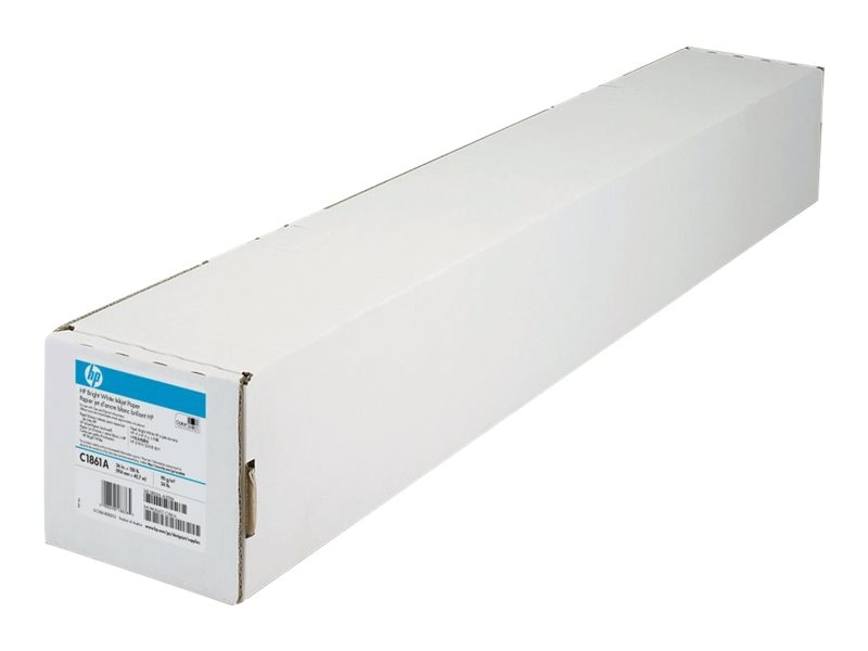 HP 36 x 150' Bright White Inkjet Paper, C1861A