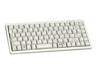 Cherry LIGHT GREY, USB & PS 2, ULTRA SLIM 83 POSITION KEY LAYOUT, W O WINDOWS KEYS, G84-4100LCAUS-0, 9409988, Keyboards & Keypads