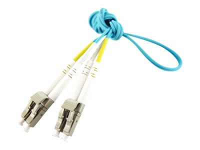 Axiom LC-LC OM4 Multimode BENDnFLEX Platinum Duplex Cable, 6m