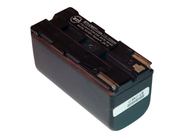 BTI Battery, Lithium-Ion, 7.4V, 1800mAh, for Canon DM-MV100, DM-MV20I, ELURA, MV100, CN617, 7927802, Batteries - Camera