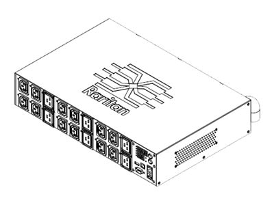 Raritan PDU 24A 3-ph 2U Outlet Level Metering, PX2-4599R, 18469886, Power Distribution Units