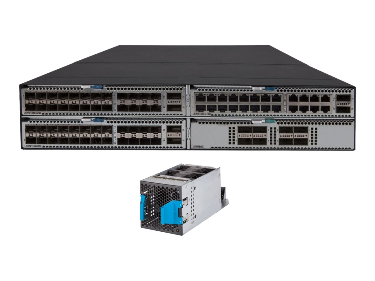 HPE FF 5930 4-Slot BF AC Bundle, JH381A#ABA, 30755691, Network Switches