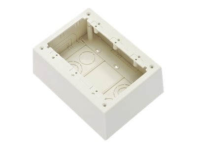 Panduit 3-Gang Non-Metallic Junction Boxes, JBP3DIW