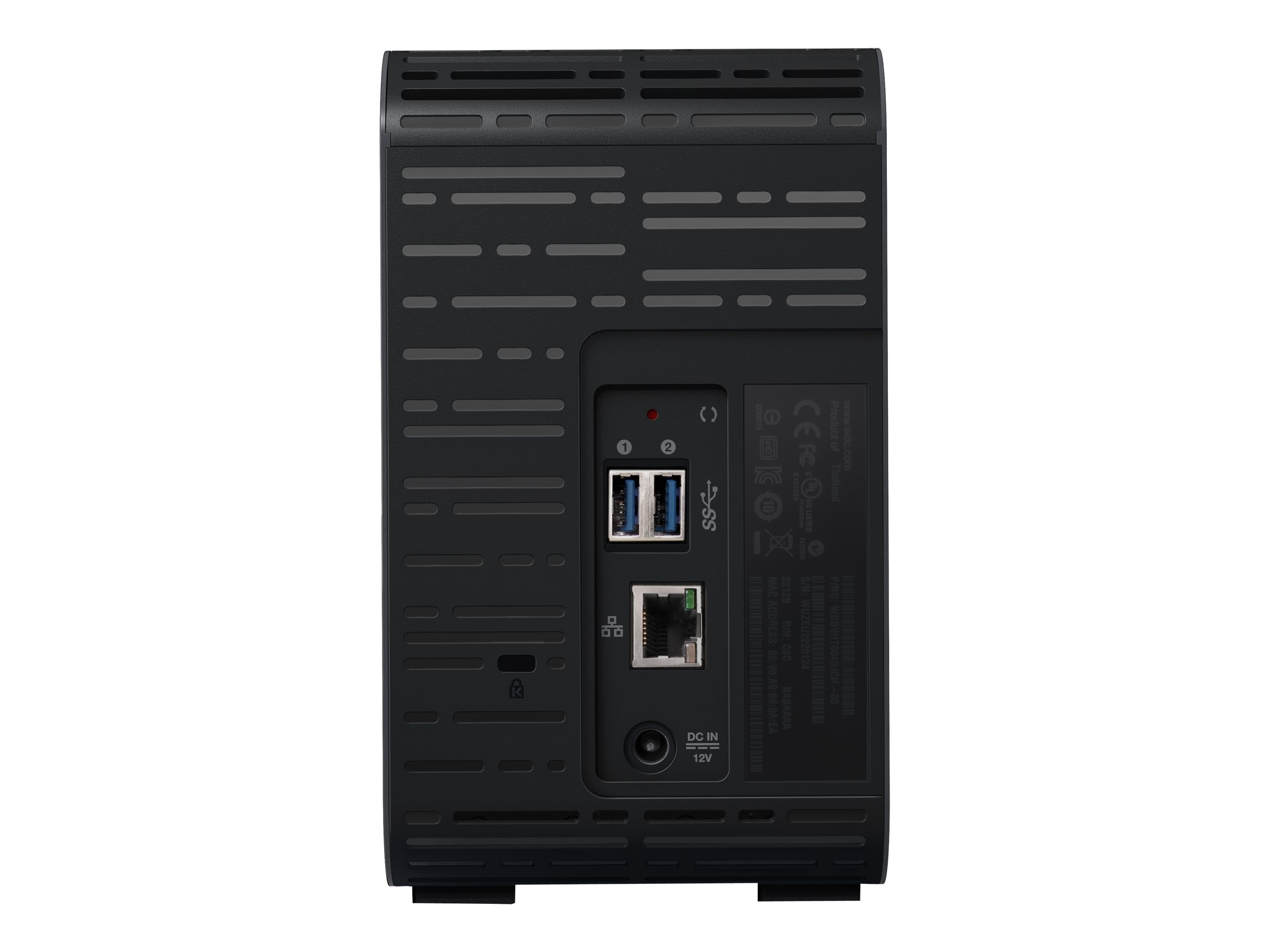 WD WD My Cloud EX2 Ultra Private Cloud NAS Storage - Diskless, WDBVBZ0000NCH-NESN