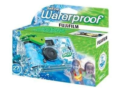 Fujifilm Fujifilm QuickSnap Waterproof 35mm Disposable Camera, 7025227, 10710858, Cameras - Film