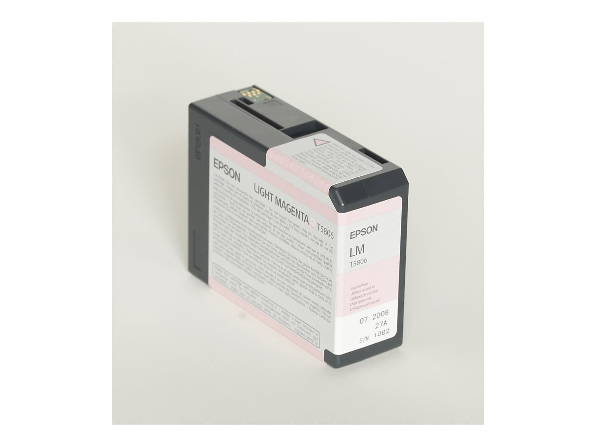 Epson Light Magenta UltraChrome K3 Ink Cartridge for Stylus Pro 3800 3800 Professional Edition, T580600