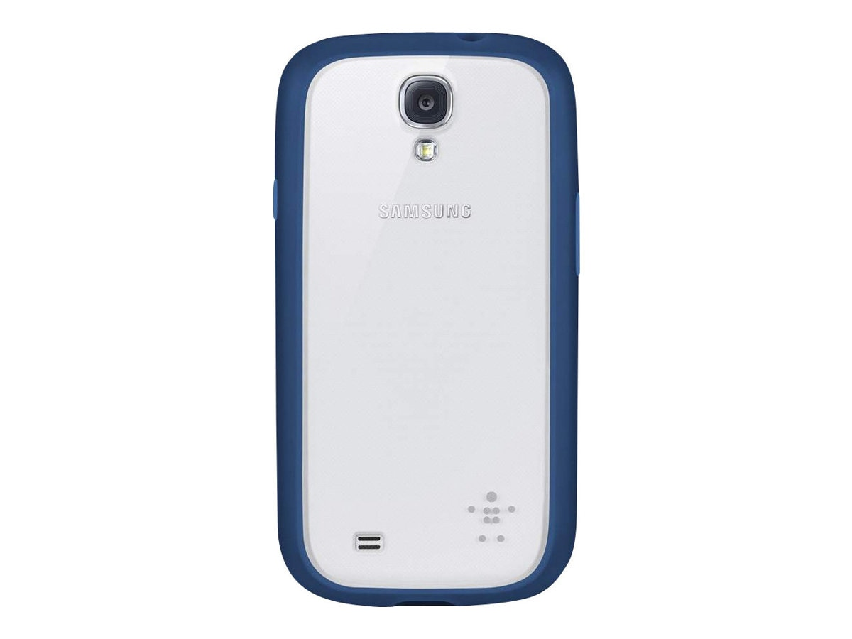 Belkin View Case for Samsung Galaxy S4, Clear Midnight, F8M565BTC01